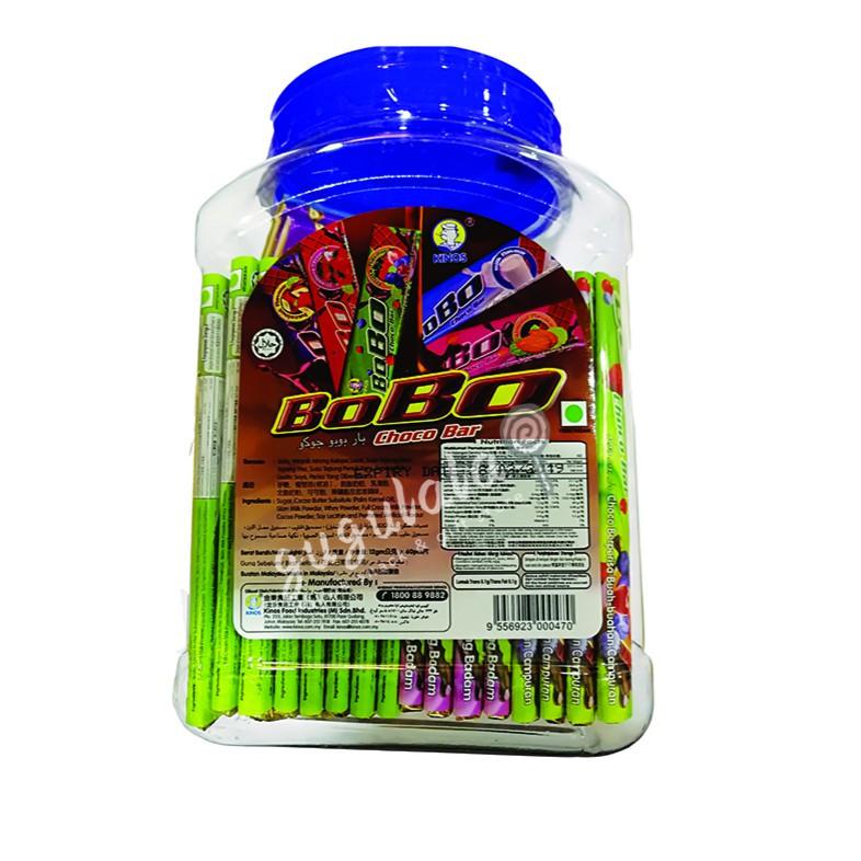 image of BoBo Choco Bar 60'S X 12g