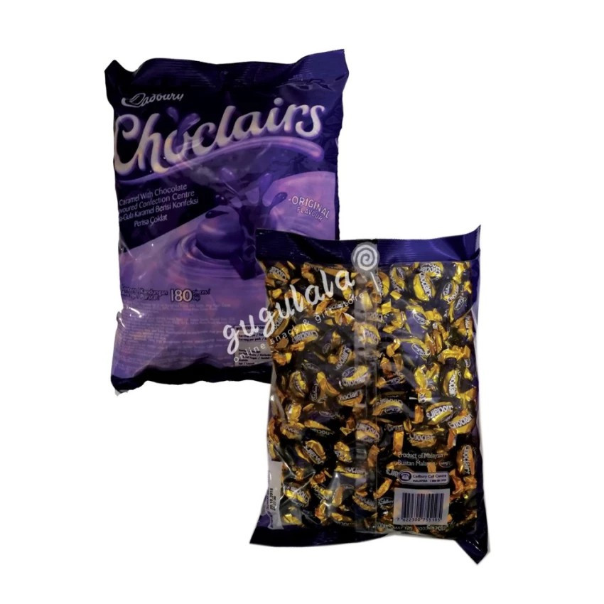 image of Cadbury Choclairs Original 180'S X 4.5g