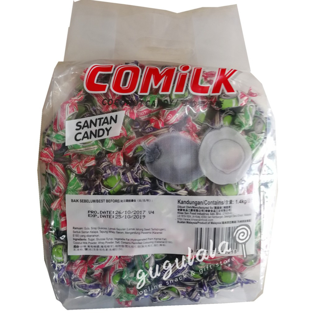 image of Comilk Santan Candy 1.4kg
