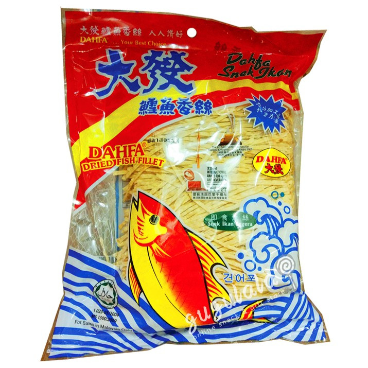 Dahfa Dried Fish Fillet 280g