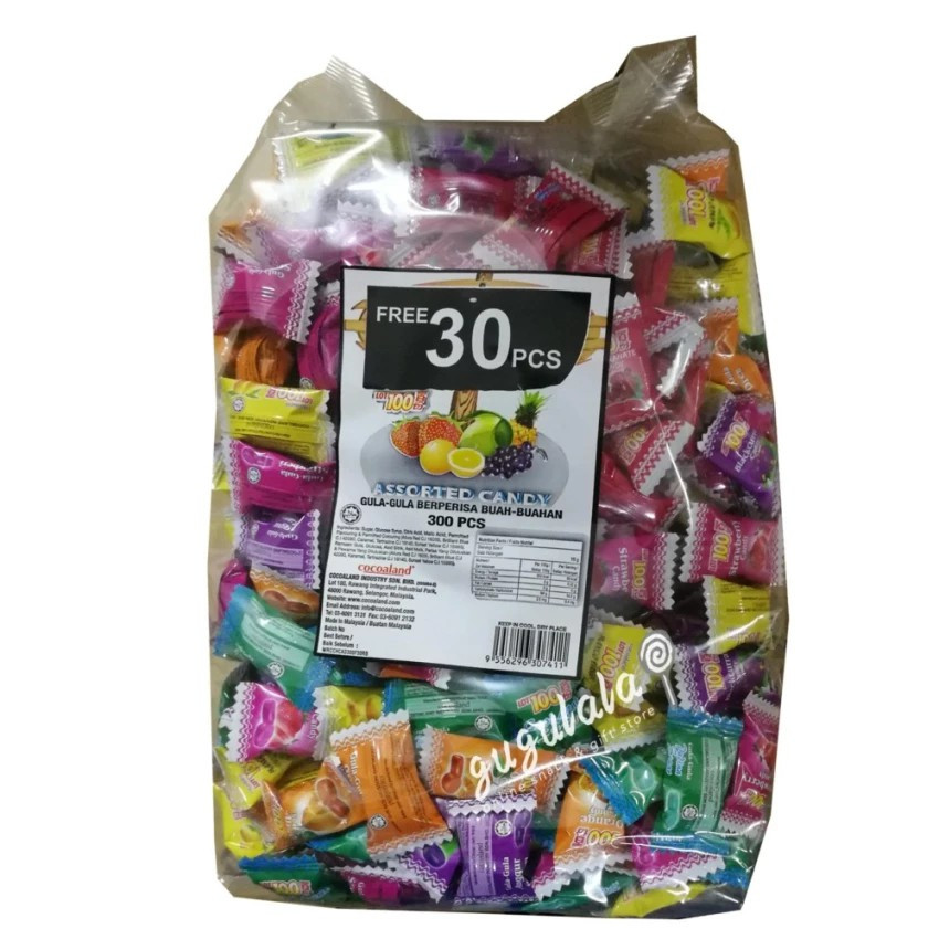 image of Lot 100 Assorted Candy 300'S