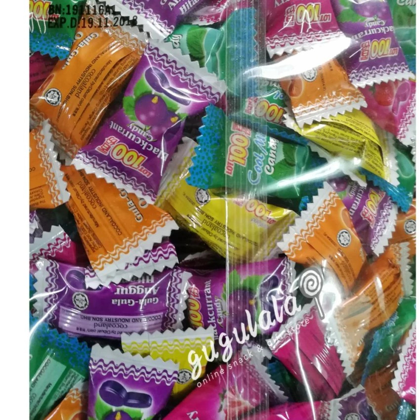 Lot 100 Assorted Candy 300'S