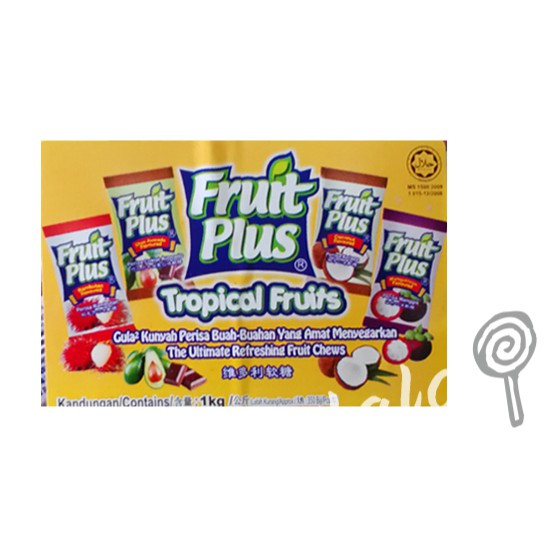 Fruit Plus Chewy Candy 1kg