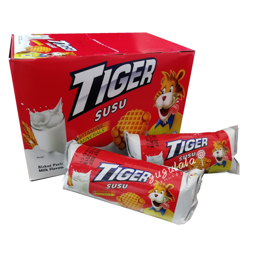 image of Tiger Biscuit Susu 12'S X 75g
