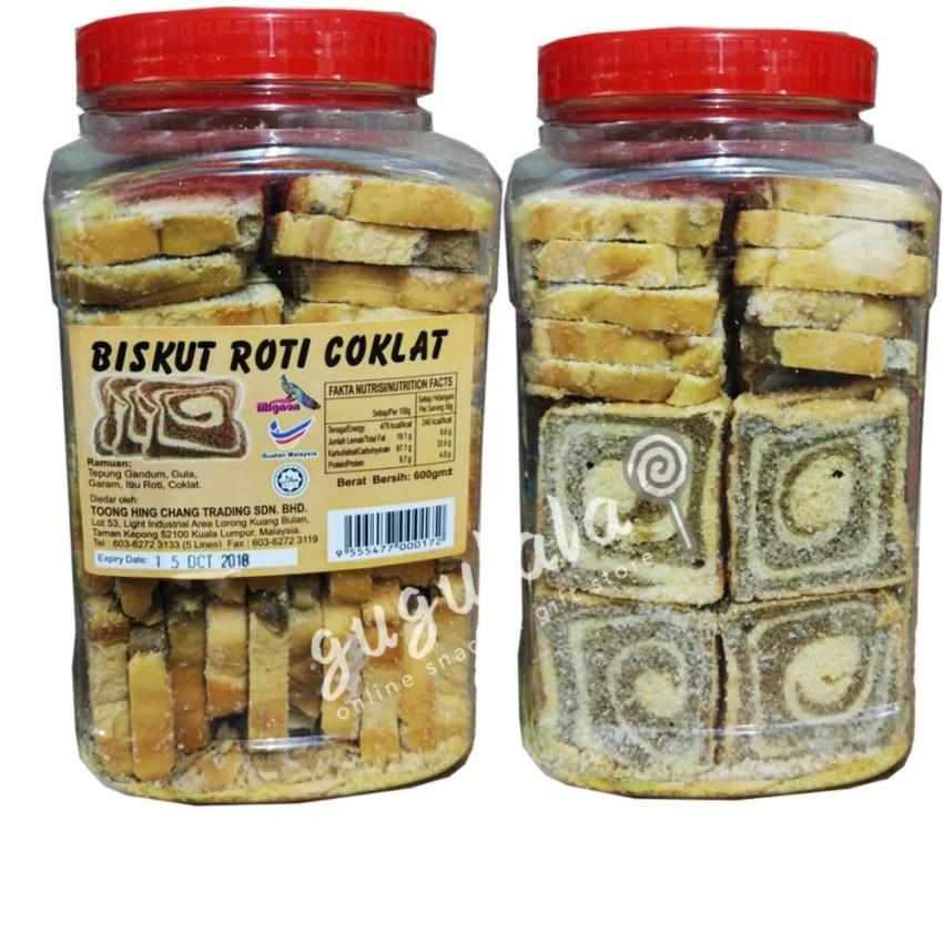 image of Biskut Roti Coklat 600g