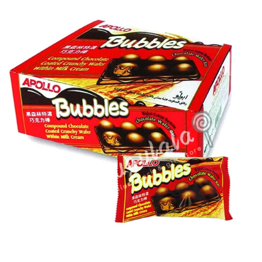 Apollo Bubbles A1088ML 24'S X 33g