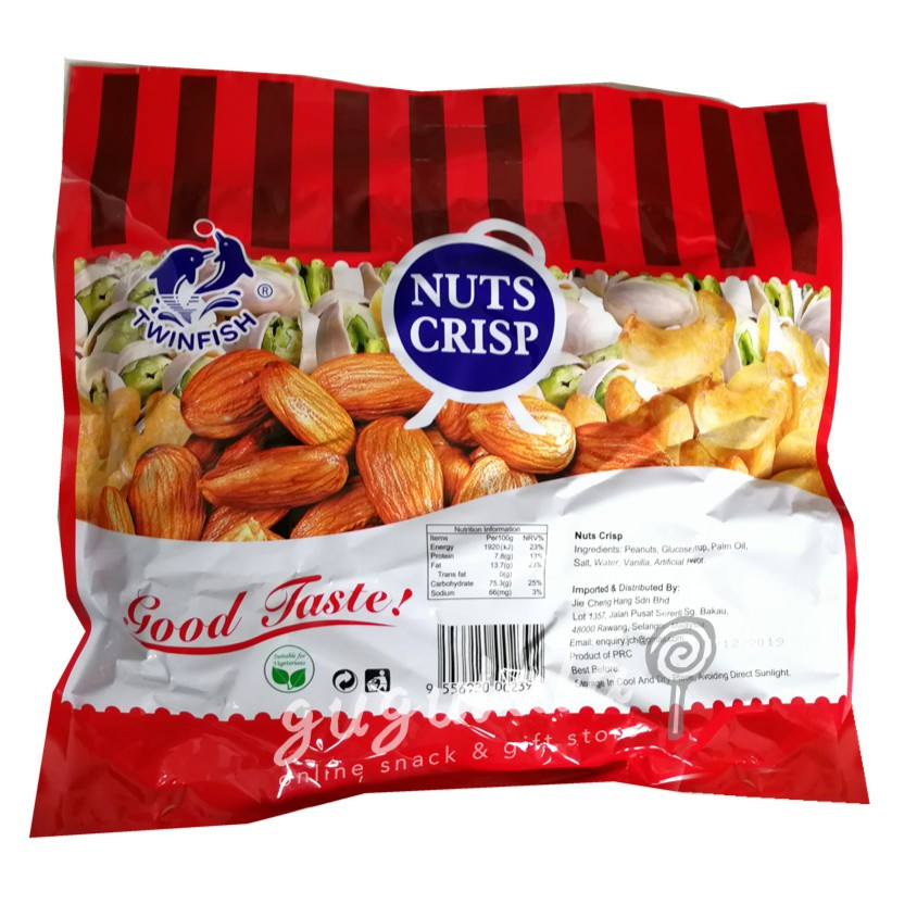 image of Nuts Crisp 500g