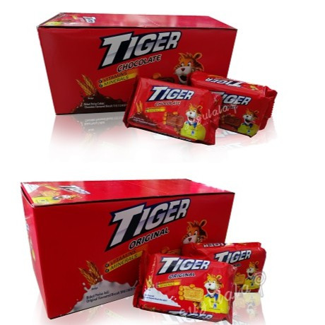 image of Tiger Biscuit 12'S X 60g
