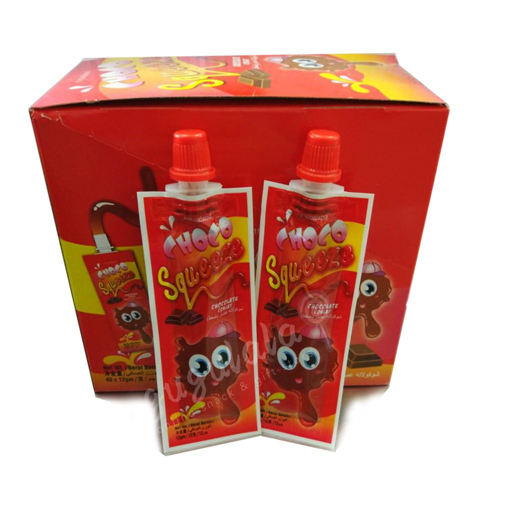 Choco Squeeze 40'S X 12g