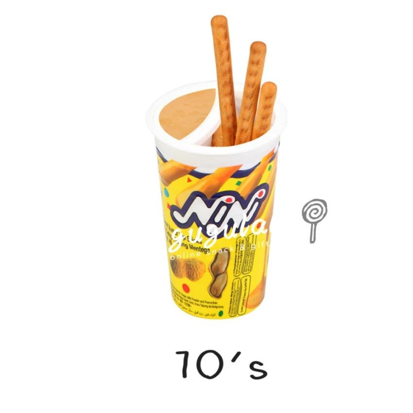 Nini Peanut Sticks 10'S