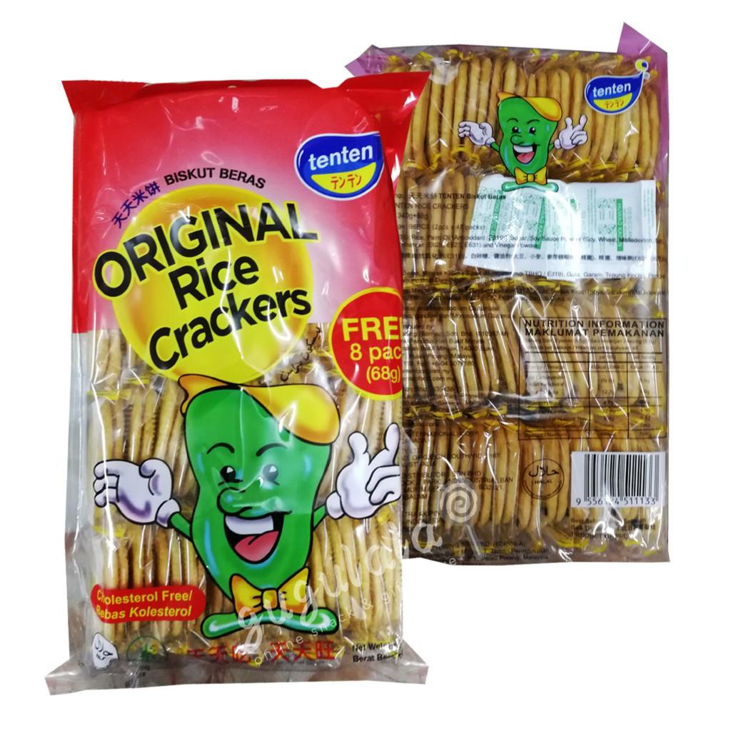 image of TenTen Original Rice Crackers 40'S X 8.5g