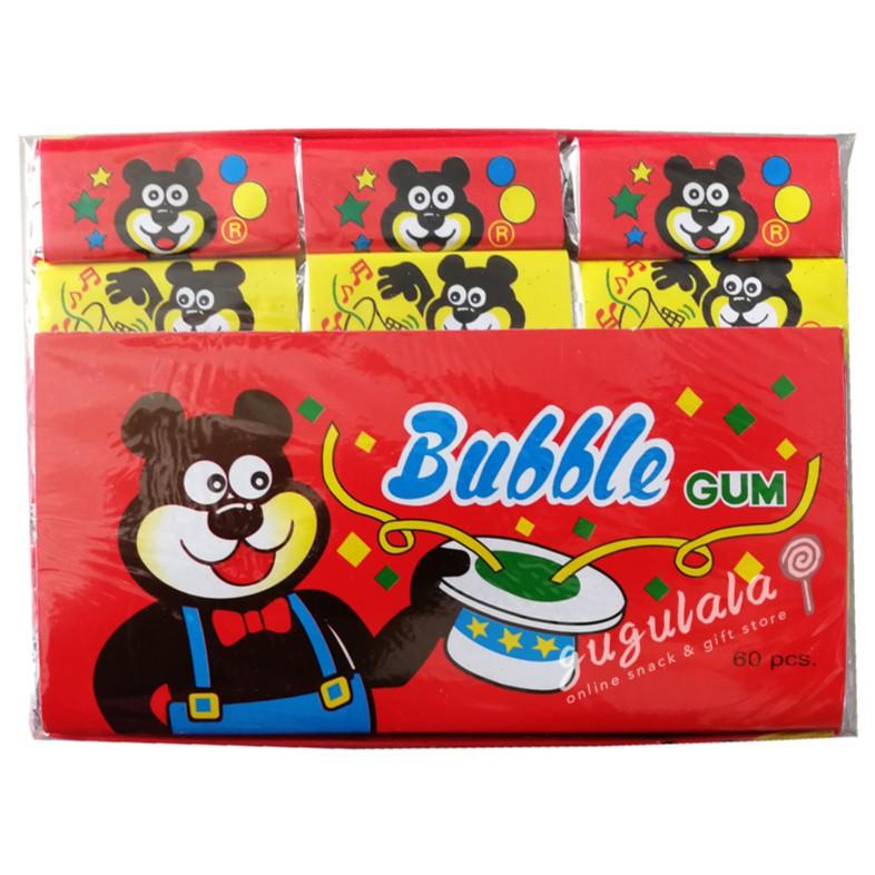 Bear Bubble Gum 60'S