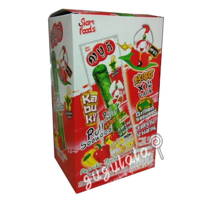 Kabuki Roll Seaweed Paprika 12'S