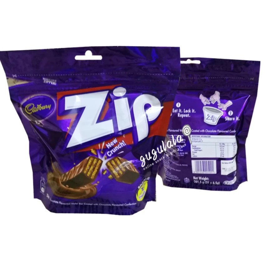 image of Cadbury Zip Wafer Bar 31'S X 6.5g