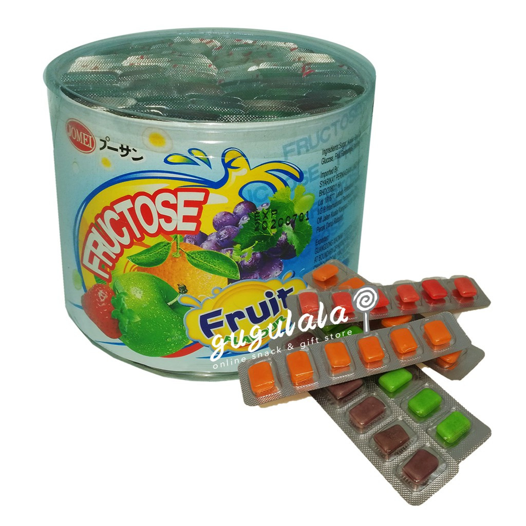 image of Fructose Fruit Flavour Candy 90'S