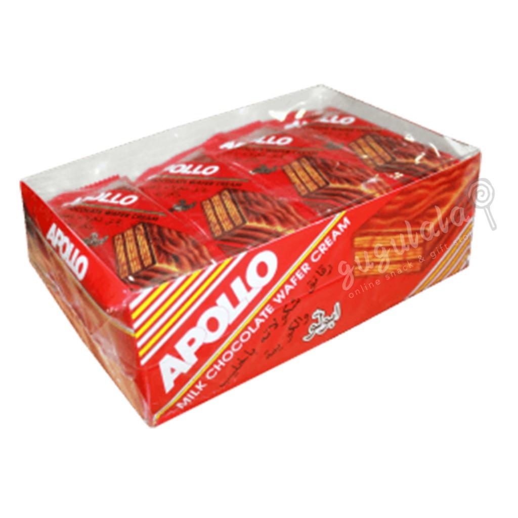 image of Apollo Milk Chocolate Wafer Cream A1206ML 24'S X 19g