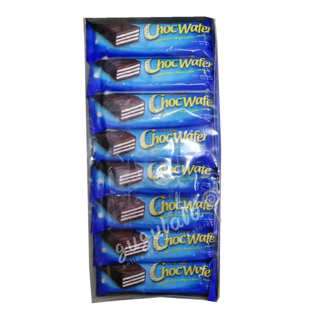 image of Mum's Bake Choc Wafer 40'S X 12g