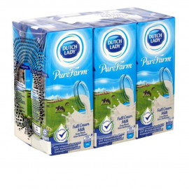 image of Dutch Lady Pure Farm Milk 6 X 200ml