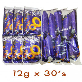 image of Oriental Super Ring Cheese Snacks 12g X 30'S