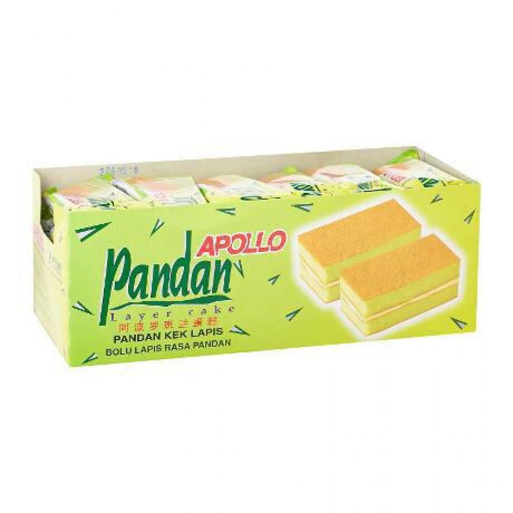 Apollo Pandan Layer Cake 3030 24'S X 18g