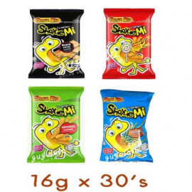 image of Snek Ku ShoyueMi Japanese Noodles Series Snack 30'S X 16g