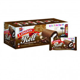 image of London Roll Choco Flavour Cake 24'S X20g