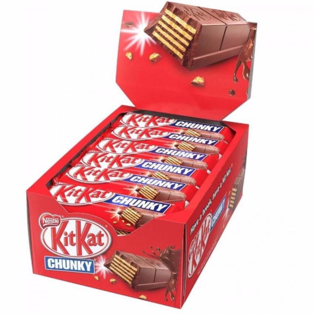 KitKat Chunky 24'S X 38g