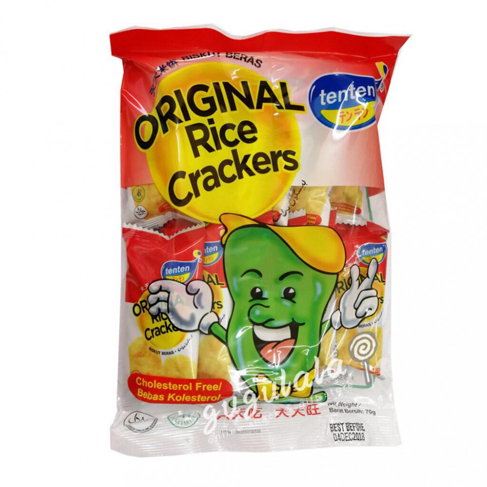 Tenten Original Rice Crackers 70g