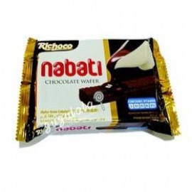 image of Richoco Nabati Chocolate Wafer 50g