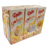 image of Delite Yogurt Mixed Fruit Drink 6 X 250ml