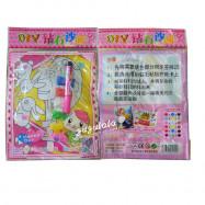 image of DIY Diamond Sand Card 钻石沙画