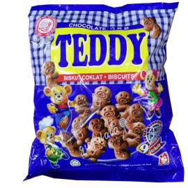 image of Hup Seng Chocolate Teddy Biscuits 126g