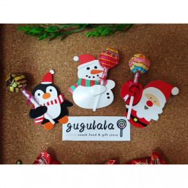 image of Chupa Chups Lollipop With X'mas Special Lollipop Holder 1'S