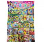 Mini Cartoon Puzzle 3'S