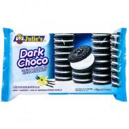 image of Julie's Dark Choco Vanilla Cream Sandwich 145g
