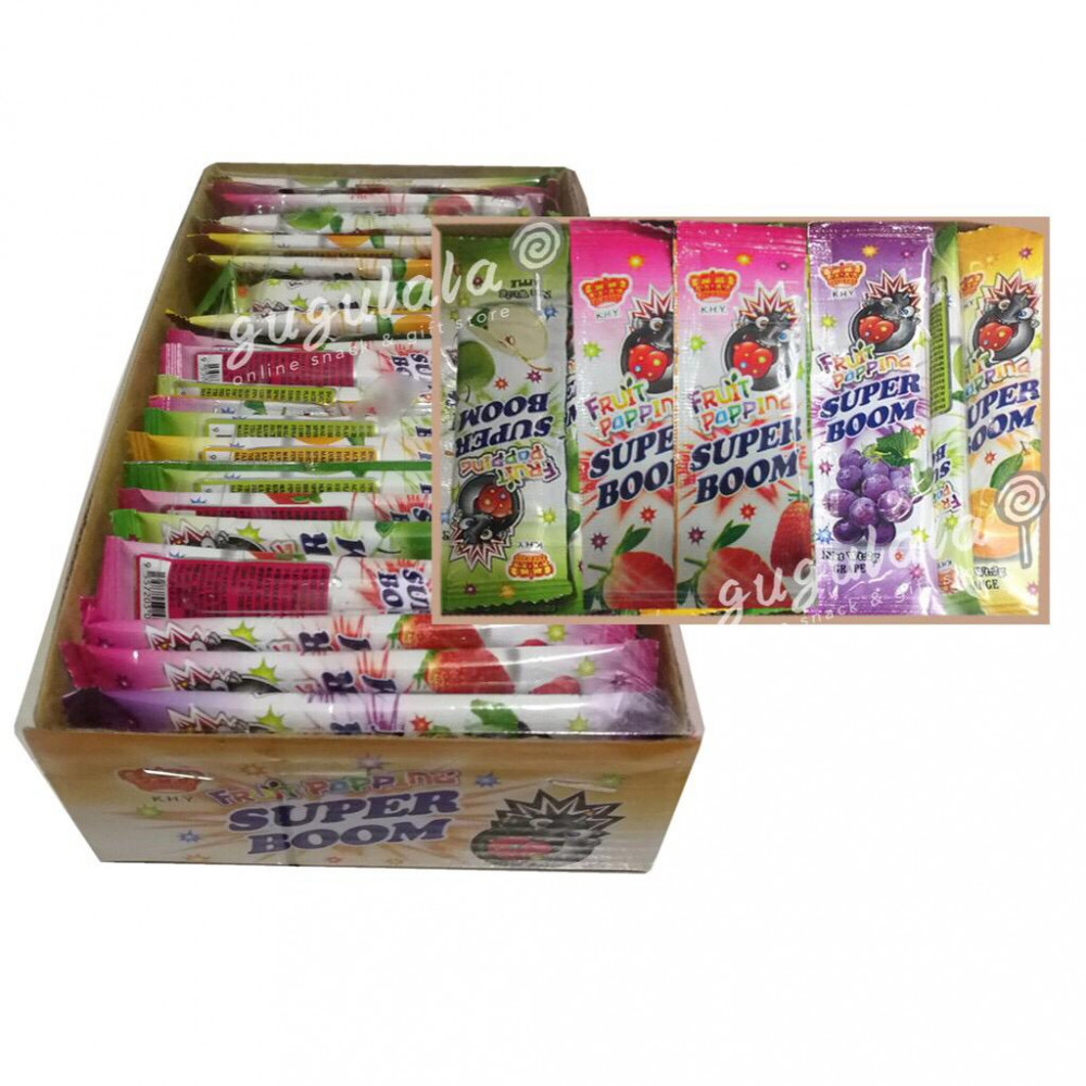 Super Boom Popping Candy 80'S
