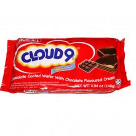 image of Cloud 9 Wafret Twins Chocolate / Vanilla 10'S X 14g