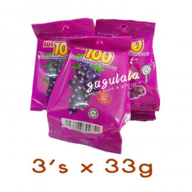 image of Lot 100 Gummy Blackcurrant 3'S X 33g