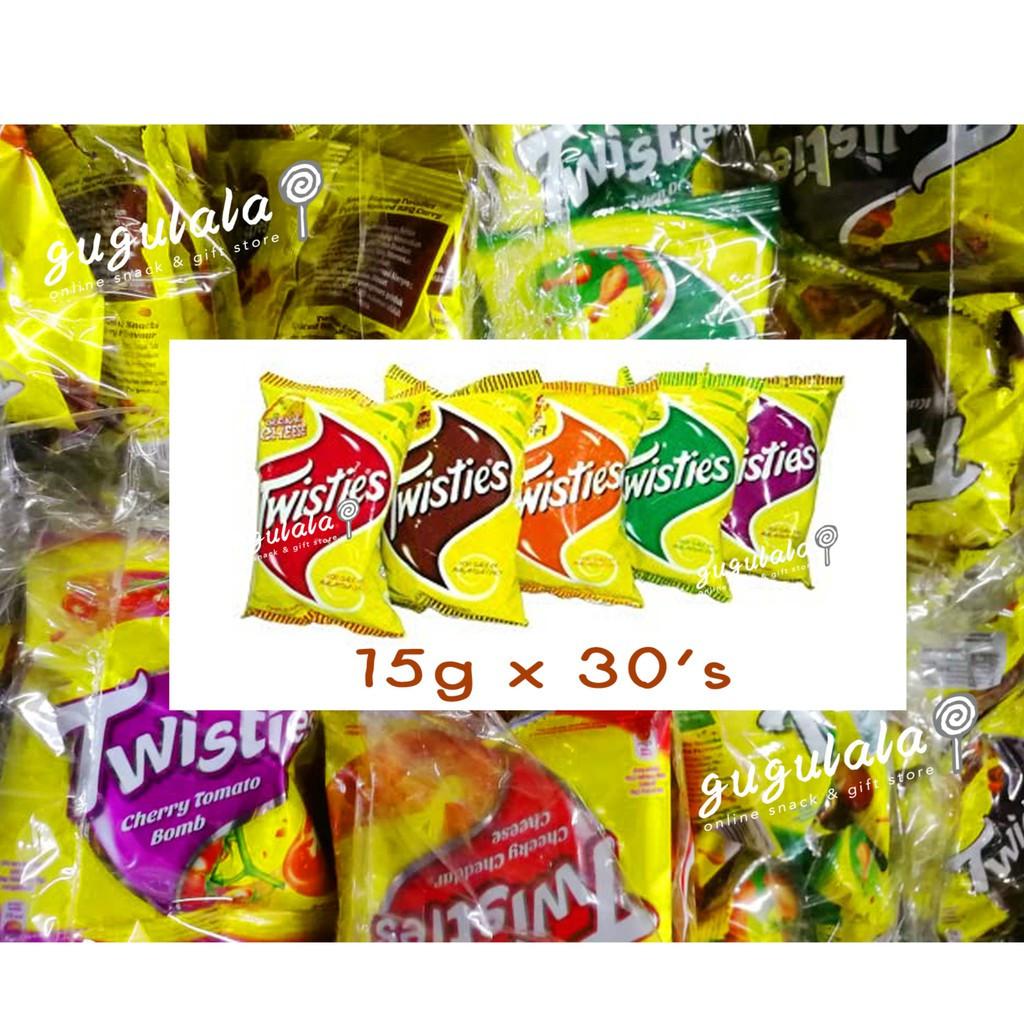 image of Twisties 30'S X 15g