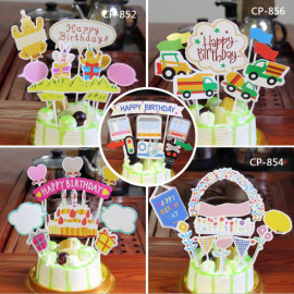 image of Birthday Cake Decoration