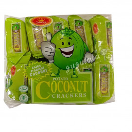 image of Potato Coconut Crackers 10'S X 32g