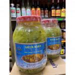 Sweet pickled green mustard 龙兴特级贡菜