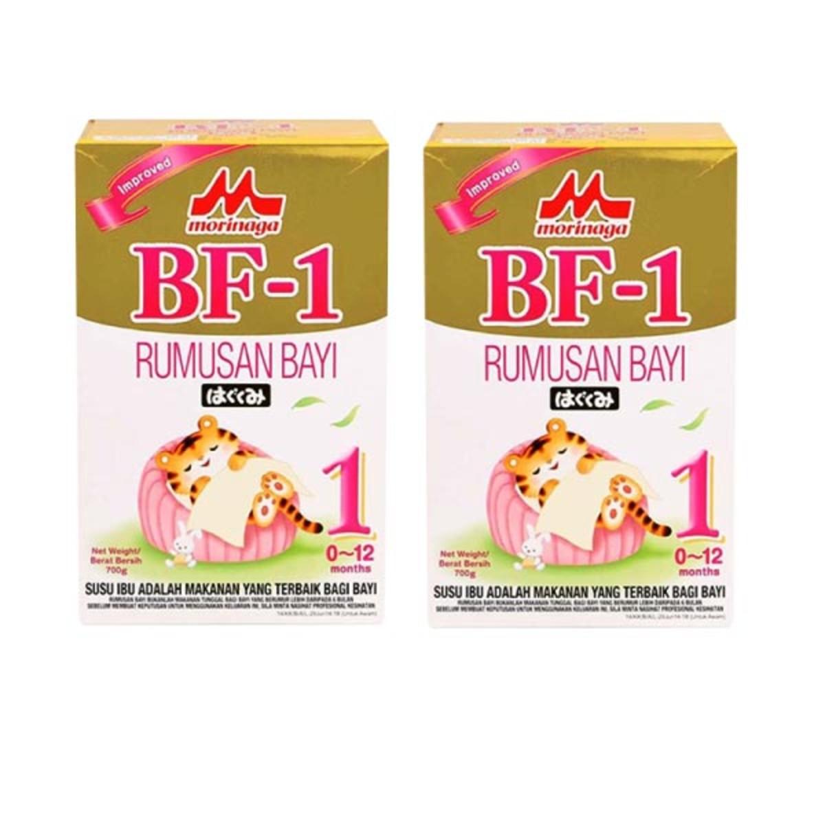 Morinaga BF-1 Step 1 (0-12 months) 700g X 2