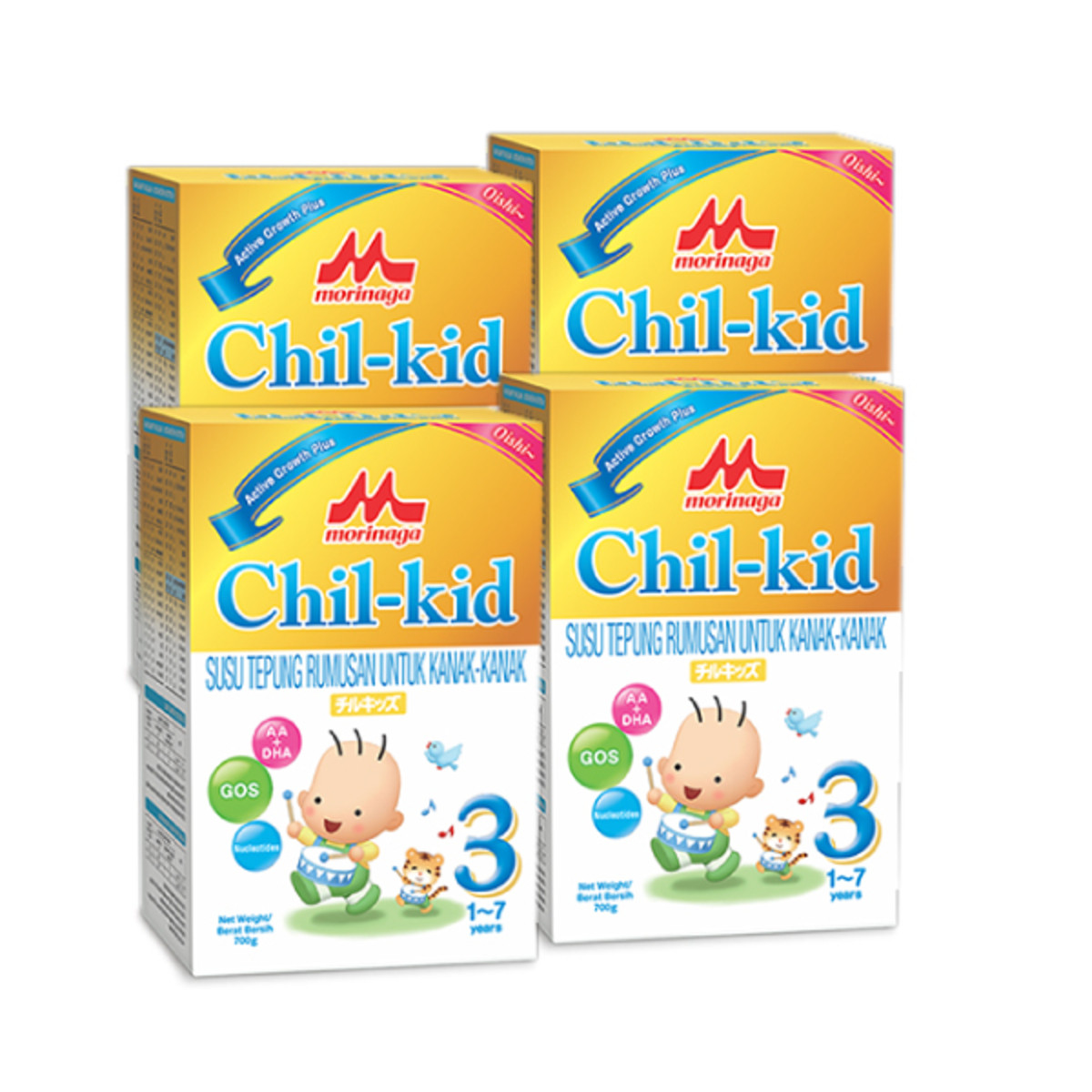 image of Morinaga CK-3 Step 3 (1-7 years) 700g x 4