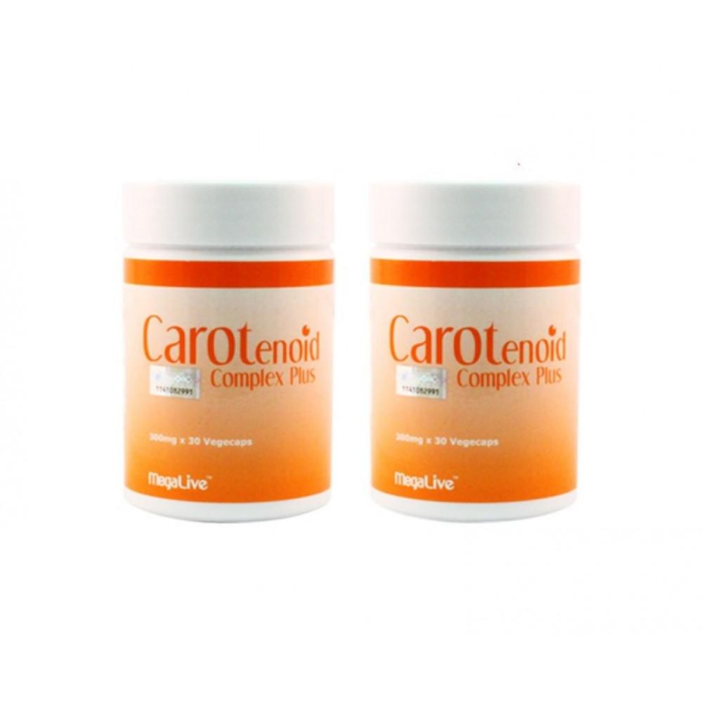 Megalive Carotenoid Complex Plus 2x30'S