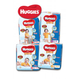 image of Huggies Dry Pants S66+4 / M60+4 / L50+2 / XL42 / XXL32