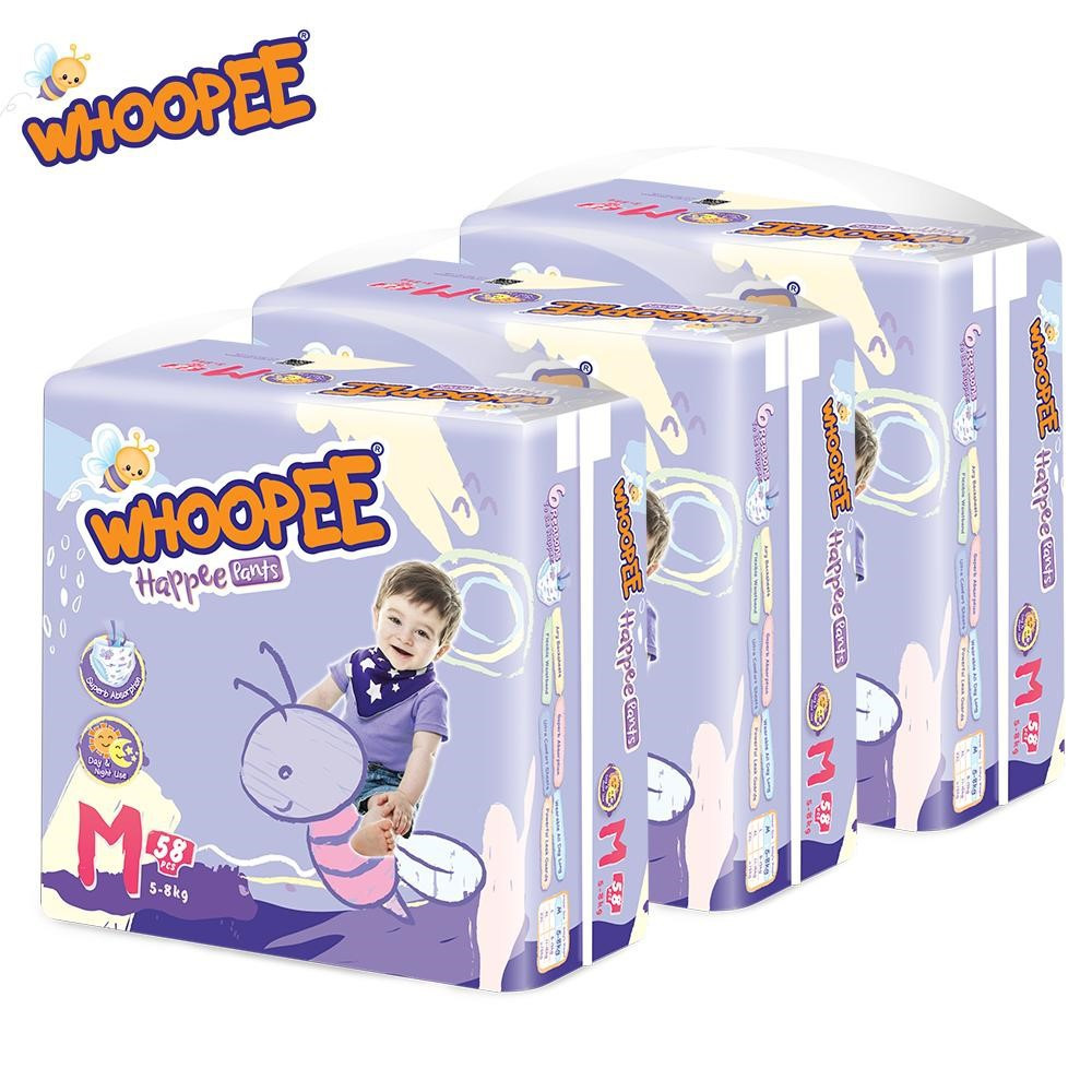 image of Whoopee Pants Mega Pack M58 / L48 / XL44 / XXL38 (3 Packs)