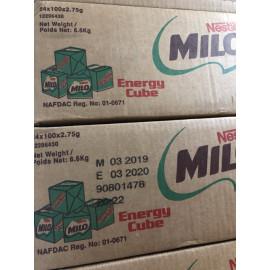 image of Nestle Milo Cube 100Pcs   (1 Carton x 24 Pack) HALAL