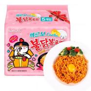 image of SAMYANG Carbonara Hot Chicken Noodle 130g X 5pack HALAL