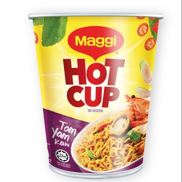 MAGGI Hot Cup Tom Yam 1 Cups 72g Each